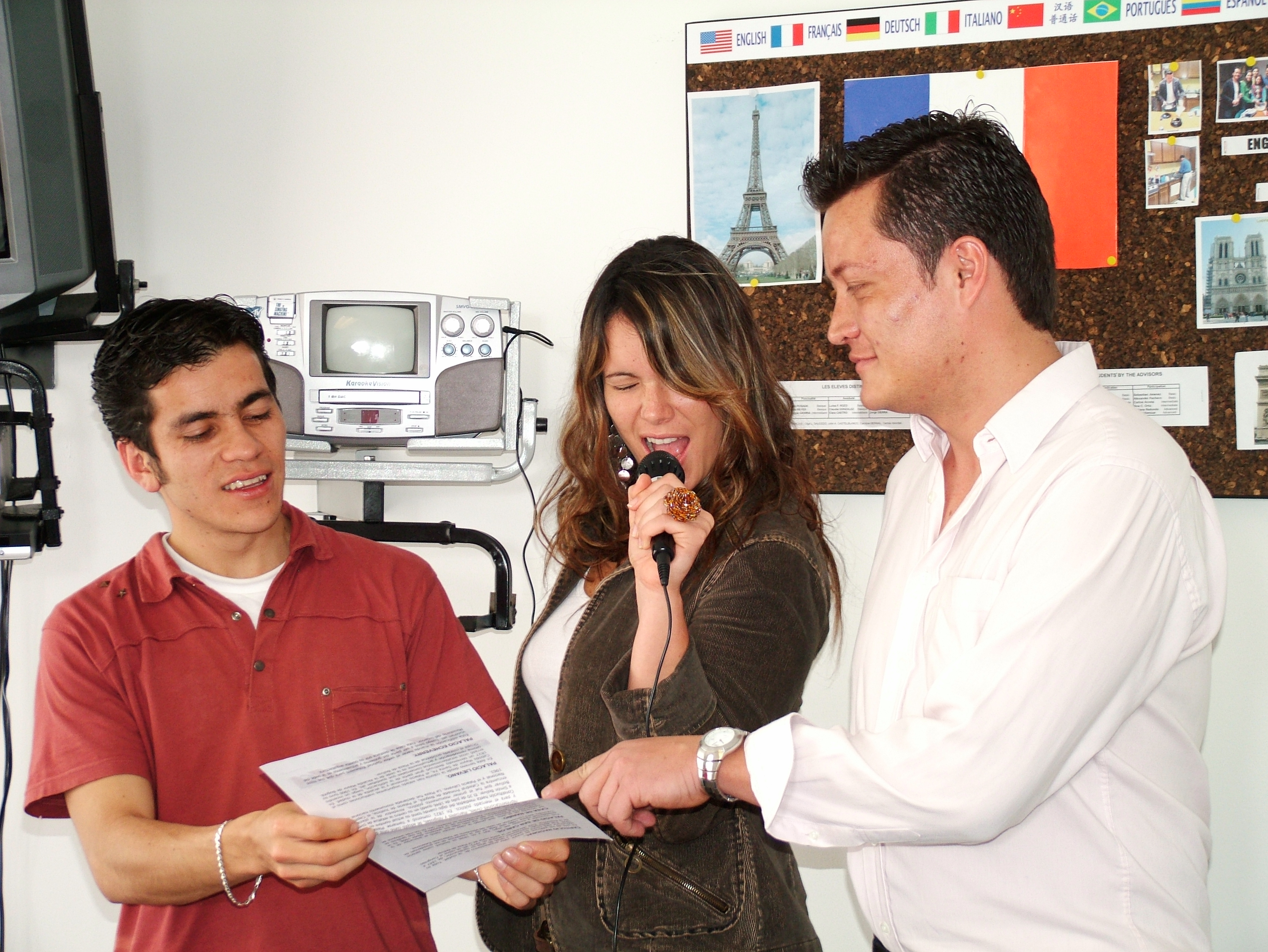 Actividad talent Show en Htl Cursos de idiomas