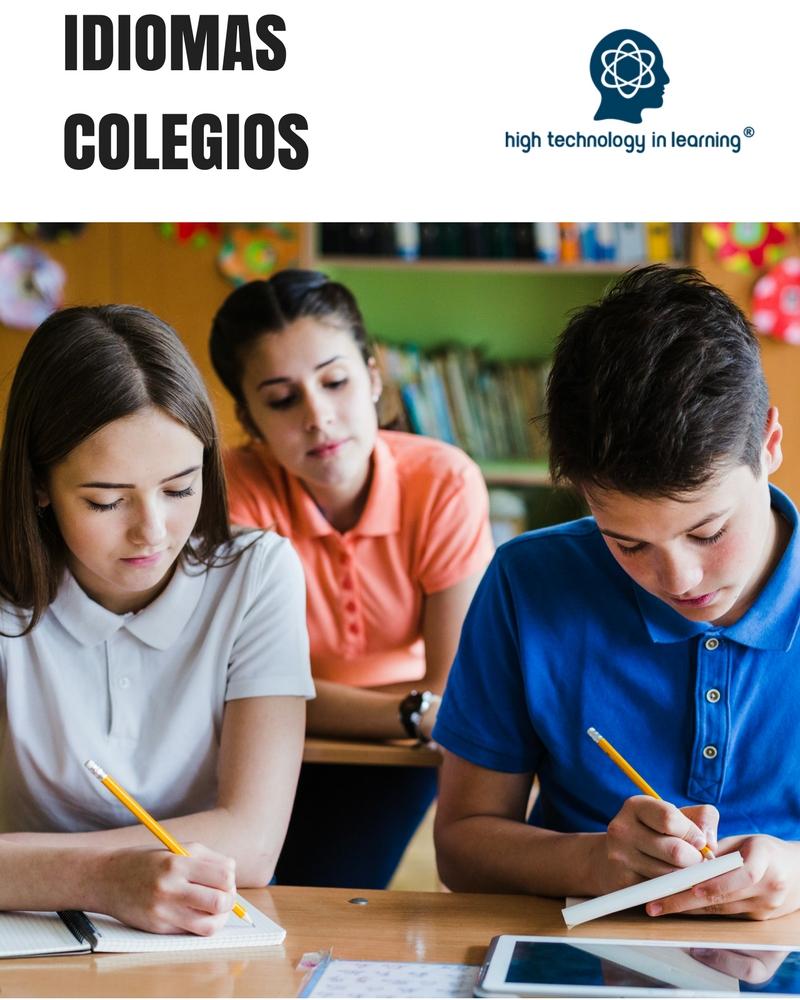 Curso de idiomas para colegios
