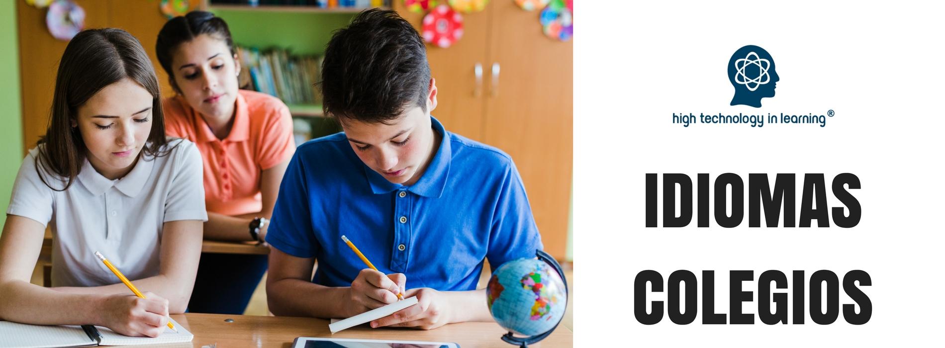 CUrsos de idiomas para colegios