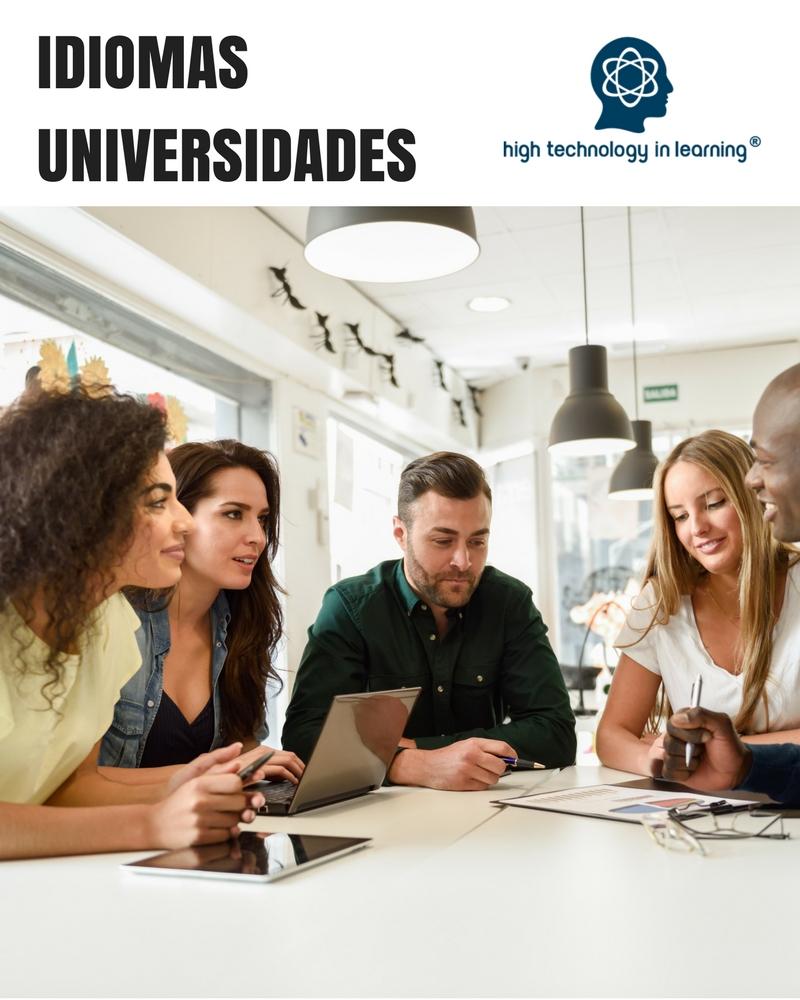 Curso de idiomas para Universidades